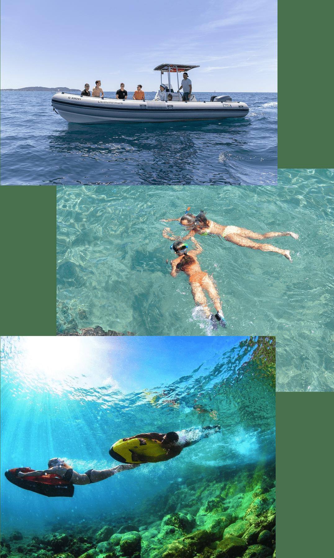Escapade en mer à Porquerolles